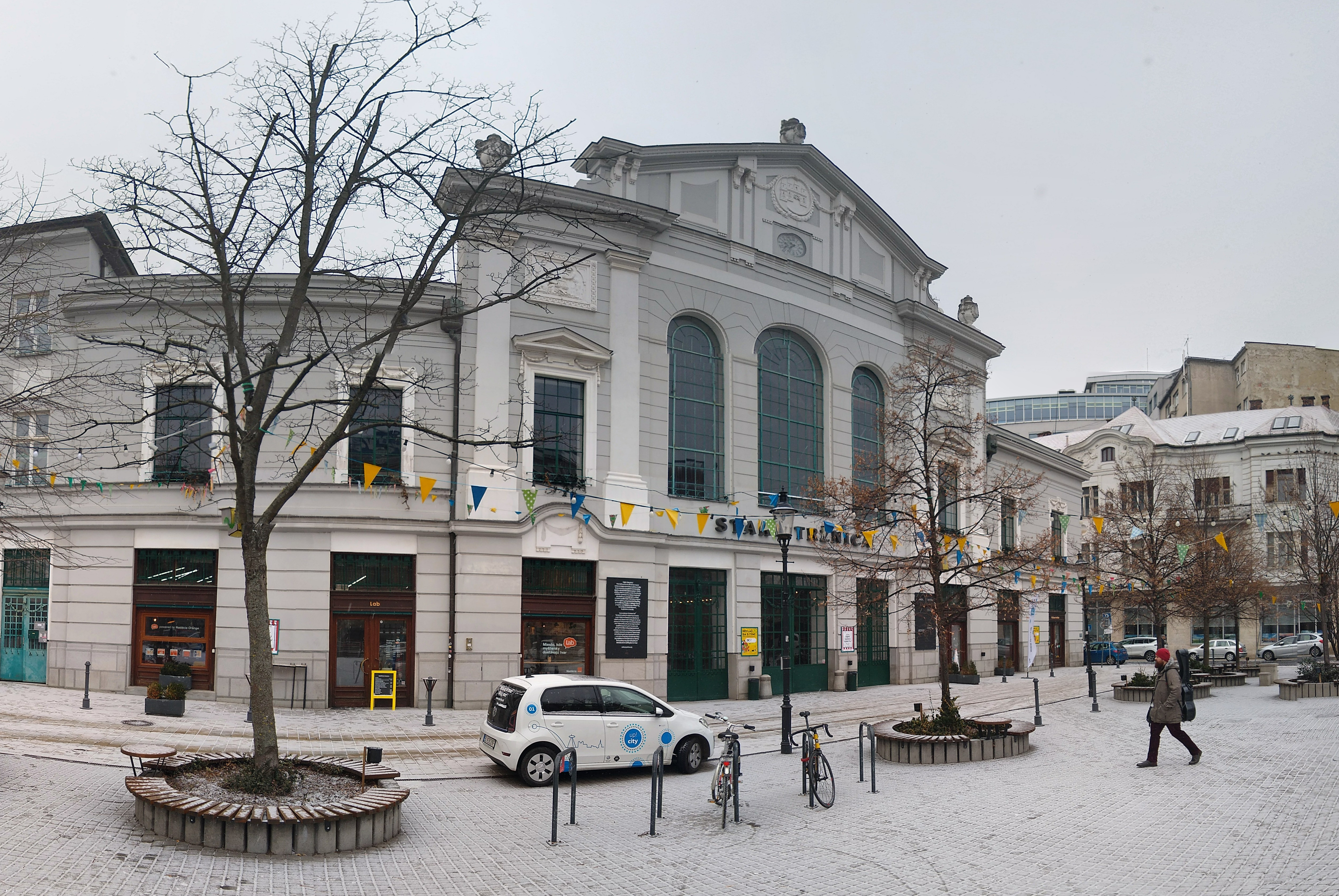 The Old Market building